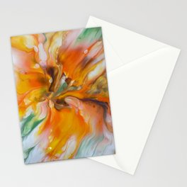 Orange Lily Stationery Cards