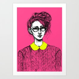 Esmerelda Art Print