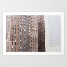 NYC Patterns Art Print
