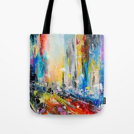Abstract cityscape 6 Tote Bag