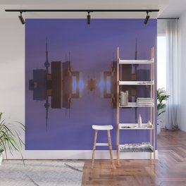 Skyline Symmetry in Toronto, Ontario  Wall Mural
