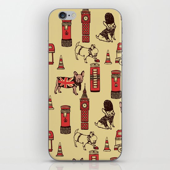 London Frenchies iPhone & iPod Skin