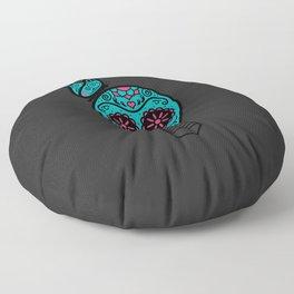 Noche de los Muertos Floor Pillow