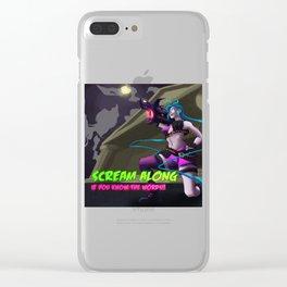 Jinx Scream Along! Clear iPhone Case