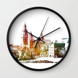 Cracow Wawel Wall Clock