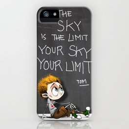 Your sky is your Limit iPhone Case
