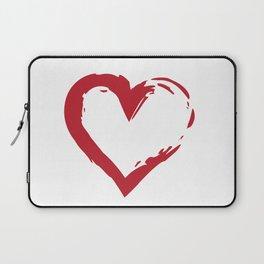Heart Shape Symbol Laptop Sleeve