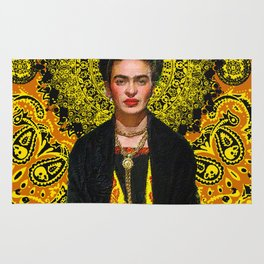 Frida Kahlo 3 Rug