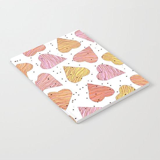 Love, hearts, cookies! Notebook