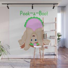Peek-a-Boo! Wall Mural