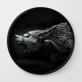 darkwolf Wall Clock