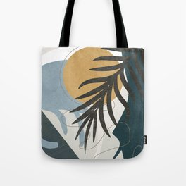 Abstract Tropical Art II Tote Bag