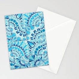 Inverted Ocean Mandalas Stationery Cards