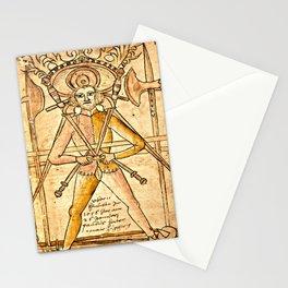 Swordplay Codex Wallerstein  Stationery Cards