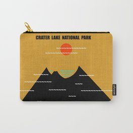 Crater Lake National Park Carry-All Pouch