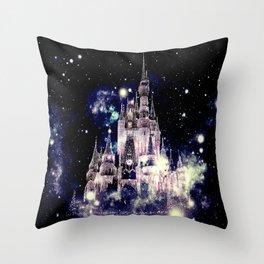 Celestial Palace Amethyst Throw Pillow