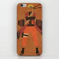 naruto iPhone & iPod Skins featuring Sage Naruto by JHTY
