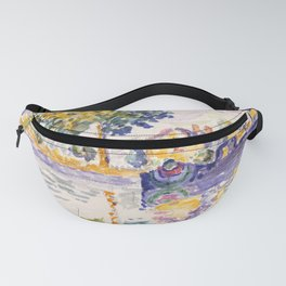 """Paul Signac """"View of the Seine, Samois"""" Fanny Pack"""