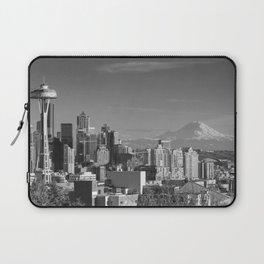Seattle Winter White Laptop Sleeve