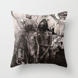 Total Offer (Detail) Throw Pillow