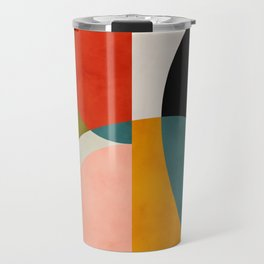 geometry shapes 3 Travel Mug