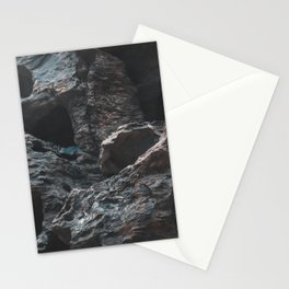 Abstract rocky figures Stationery Cards