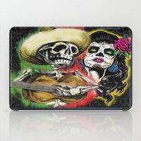dia de los muertos iPad Cases featuring Dia de Los Muertos by Kevin Rogerson