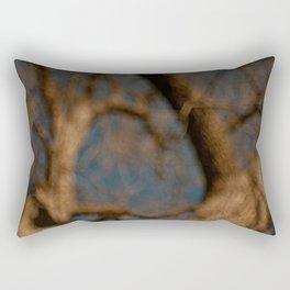 a tree Rectangular Pillow