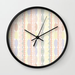 Strands of Pearls Wall Clock