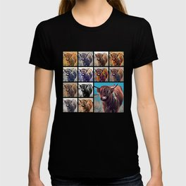Yak Attack - Pop Art Collage T-shirt