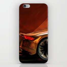 Concept Side View iPhone Skin