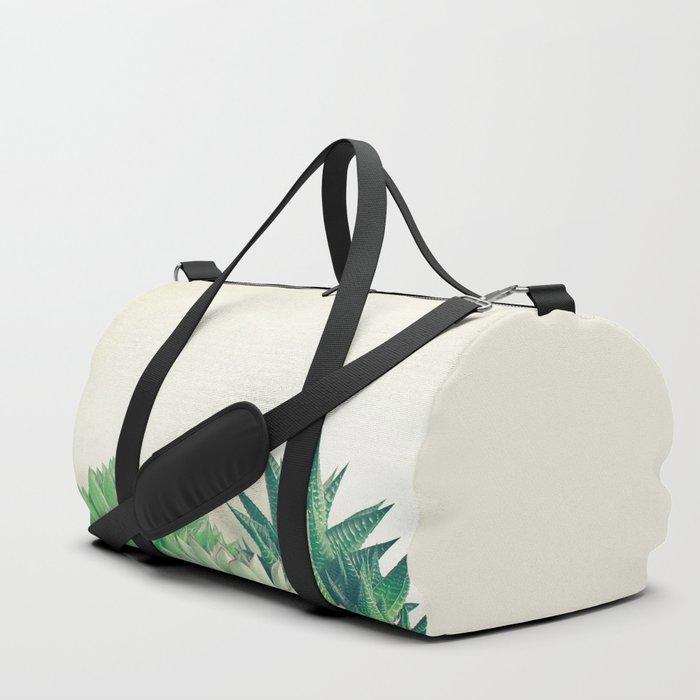 Succulent Forest Duffle Bag