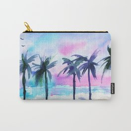 Summer vibes #3 || watercolor Carry-All Pouch