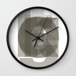 Die Neue Haas Grotesk (A-03) Wall Clock