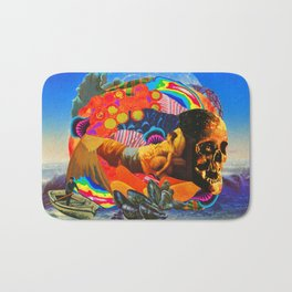 We are such stuff as dreams are made on; and our little life is rounded with a sleep. Bath Mat