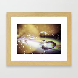 psyco drop Framed Art Print