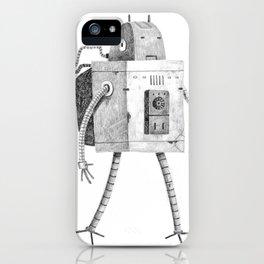 Hardworking Bot iPhone Case