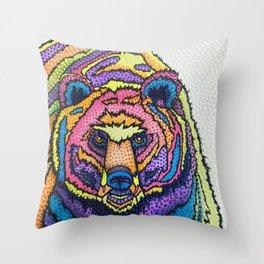 I Can't Bear it! Throw Pillow