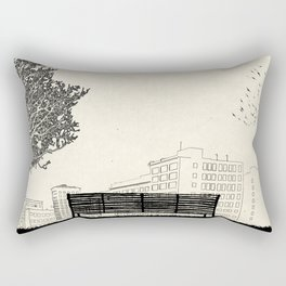 Tom's Favourite Spot — Angels Knoll Park, LA — (500) Days of Summer Rectangular Pillow