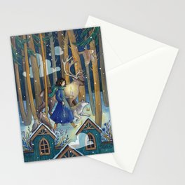 Key and Candle Stationery Cards