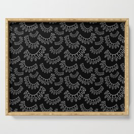 Ruth Bader Ginsburg Dissenting Collar II Serving Tray