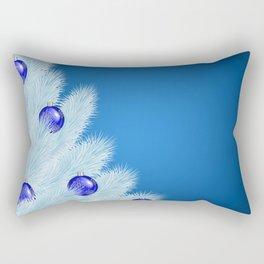 Christmas background Rectangular Pillow
