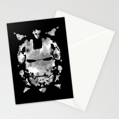 Iron Man parody of the Rorschach test Stationery Cards