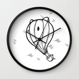 Hot tea Wall Clock