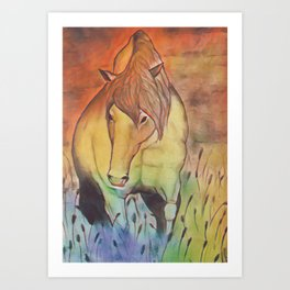 Outback Summer Afternoon Art Print