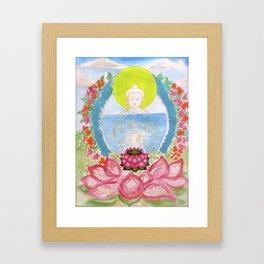 SAUSALITO  BUDDHA Framed Art Print