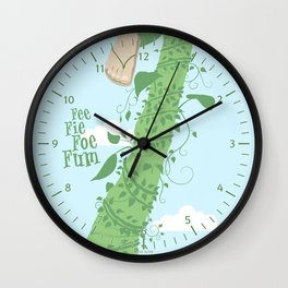 Fee Fie Foe Fum ! Wall Clock