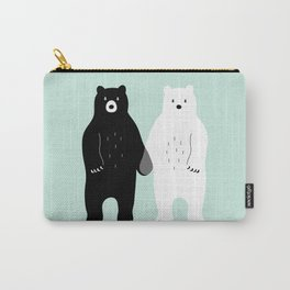 Gray Carry-All Pouch