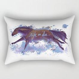 Ride or Die Rectangular Pillow