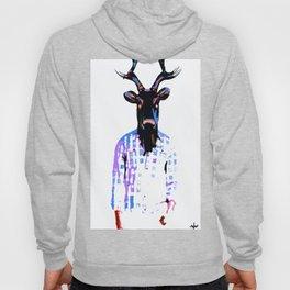 Deer Man Date You Looked Different on Facebook Hoody